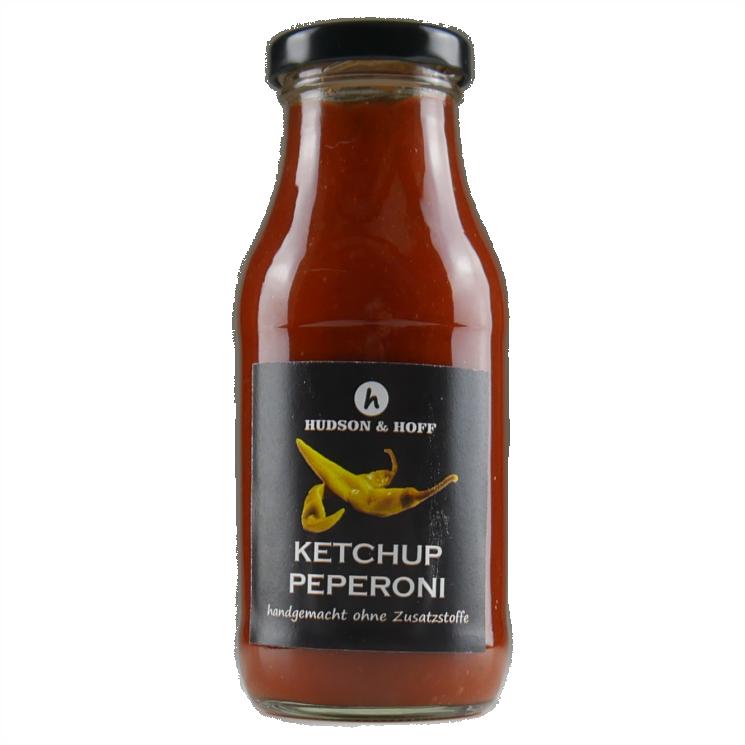 Ketchup und Peperoni