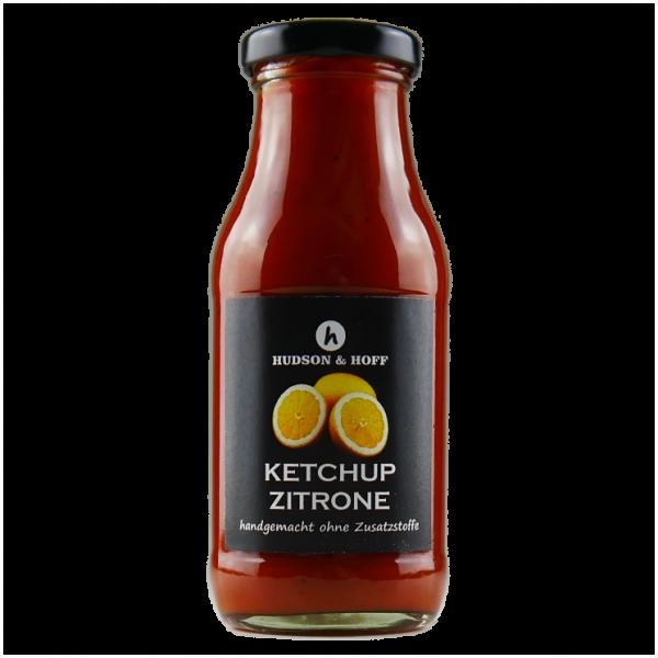 Ketchup und Zitrone
