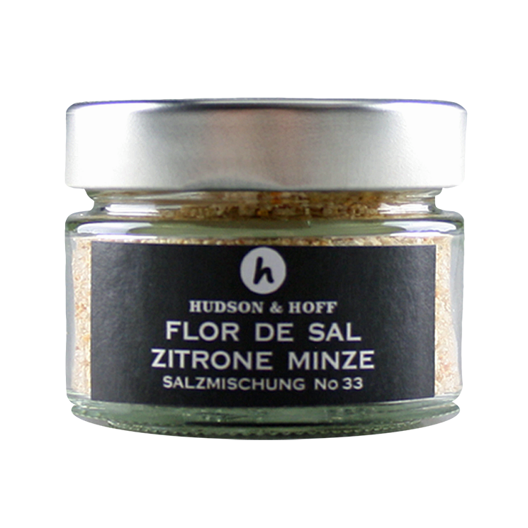 Flor de Sal Zitrone-Minze