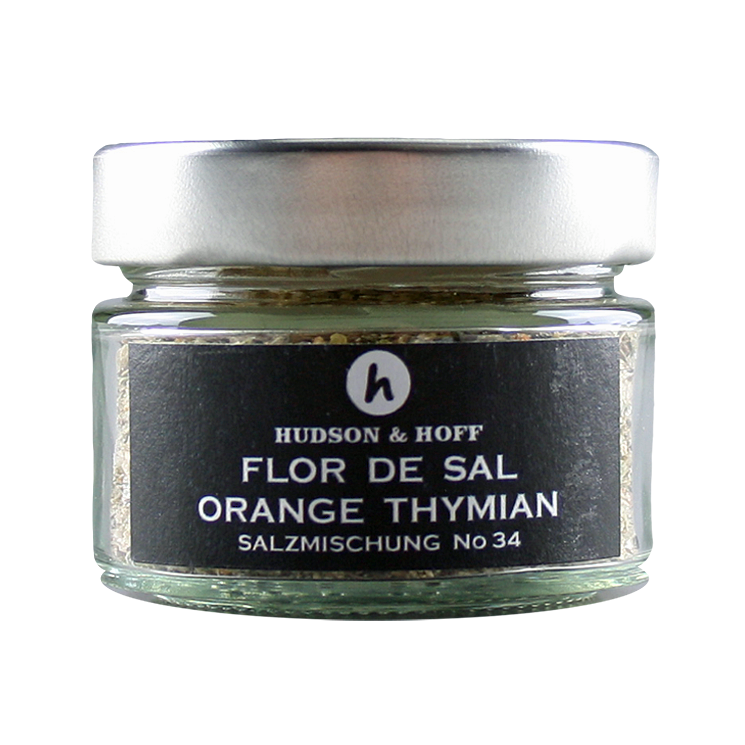 Flor de Sal Orange-Thymian