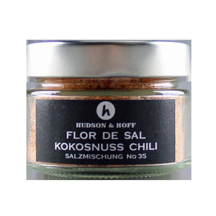 Flor de Sal Kokosnuss-Chili
